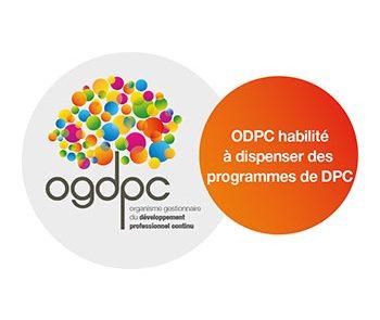 Habilitation à dispenser des formations reconnues par l'Organisme de développement professionnel continu OGDPC auprès des soignants.