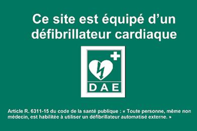 DSA DEA, défibrillateur, SST, MAC SST, secourisme, prévention, travail, obligation réglementaire,